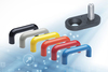 Bridge handle front fastening kit from Elesa