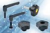 """Elesa clamping lever handles and knobs include UL """"V0"""""""