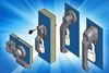 Specialist enclosure locks, handles, hinges and gasket for HVAC panels