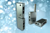 Pin hinges for industrial cabinets