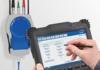 On-site verification tool for electromagnetic flowmeters