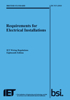 18th Edition IET Wiring Regulations for electrical installations now available for pre-order from RS