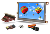 Touchscreen display module starter kits available from RS Components enable portable, low power Rasp