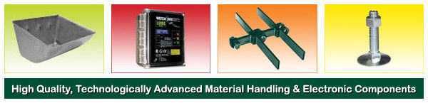 Elevator Buckets, Belts and Bolts, Forged Chain & Electronic Monitoring Systems
