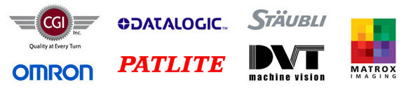 Datalogic, Omron, DVT Machine Vision