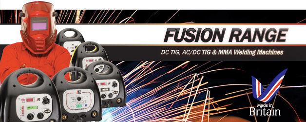 Inverter Fusion Ltd - UK manufacturers of high performance digital inverter welding machines