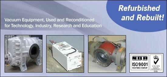 Refurbished Vacuum Pumps