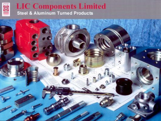 Typical components manufactured by LIC Components