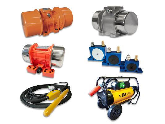 Industrial Vibrators, Concrete Vibrators