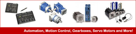 Servo/Stepper Motors & Drives, Motion Controllers