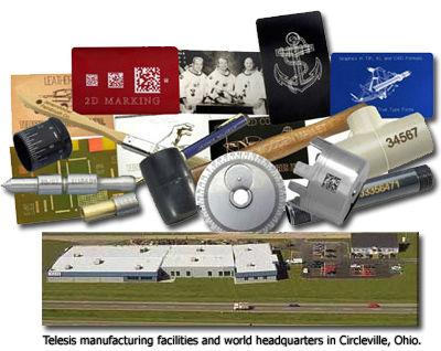 Telesis, Scribe, Dot-Peen & Laser Marking Systems since 1971
