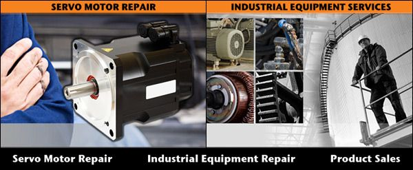 Servo Motor Repair - Fanuc Servo Repair & All Other Major Brands of Servo Motors