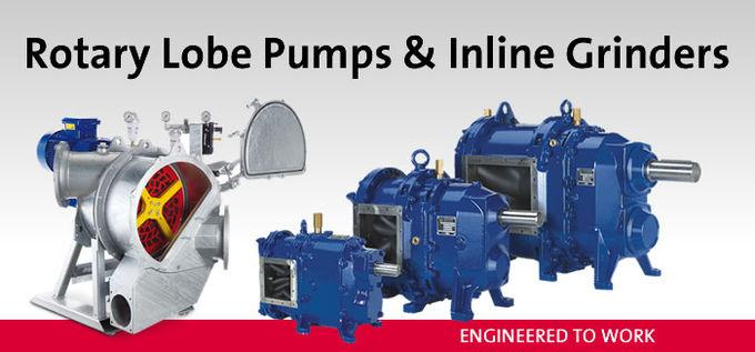 Vogelsang Rotary Lobe Pumps & Inline Grinders