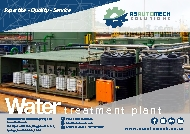 Water Treatment Brochure