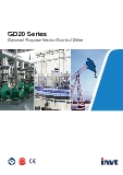 GD20 Series General Purpose Vector Control Drive