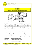 Magnetic Speed Sensor - P1200 Datasheet