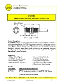 Magnetic Speed Sensor - P1700 Datasheet