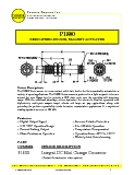 Magnetic Speed Sensor - P1800 Datasheet