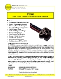Magnetic Speed Sensor - P1900 Datasheet