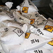 The Lead Nitrate is an industrial grade white or off white crystal salt, it is supplied to the mining industry and is used in some processes for the extraction of precious metals from ore.