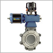 High Performance Butterfly Valves are designed for shutoff and throttling control of liquids and gas.