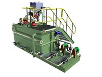 These Polymer Preparation Systems are used for the preparation, hydration and dosing of powder or liquid flocculants.