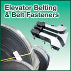 We supply a wide range of elevator belting and belt fasteners to suit all applications.
