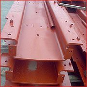 Bending of Hollow Sleepers.