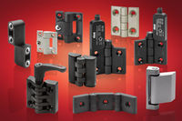 Plastic, metal and stainless steel hinges from Elesa with many standard variants, including specialist types
