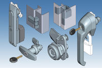 Stainless steel hinges, handles and specialist locking systems from EMKA UK