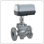 Particularly suitable for clean liquid and gaseous, inert and corrosive media, dependent on the design. Globe valves are the best control valves because of their seat design and long stroke.