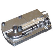 A hydraulic actuator designed and manufactured by Heathcote Engineering to a customers requirements.