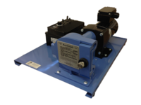 DC pumps with variable speed control.  NEMA 4X control enclosure for demanding applications.  Available with 4-20 mA input