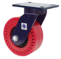 he 47, 65, 70, 75, 76, 85, 95 and 125 Series Casters are RWM Kingpinless™ Casters. We patented this design and it has proven itself to be the best solution for demanding applications.
