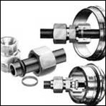 Stauff compression couplings to DIN 2353 with the now universally acclaimed profile ring - with working pressures up to twice the DIN.
