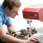 BenchMark® dot-peen marking systems, proudly manufactured in the U.S. by Telesis Technologies, enable you to easily achieve quality, permanent part marking virtually anywhere you need it.