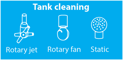 Tank cleaning systems