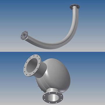 Pneumatic Conveying Bends, Pneumatic Conveying Barrel Bends, Pneumatic Conveying