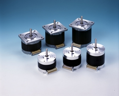 Stepper motors from Faulhaber and Nidec Servo.