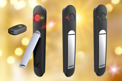Agent E Electronic locking handles from EMKA