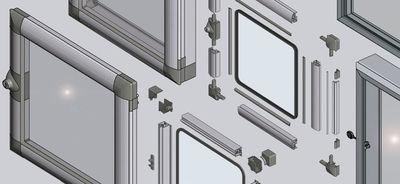 Window and door units from EMKA