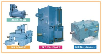 DC Motors, Electric DC Motors, Mill Duty Motors