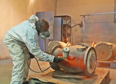 Epoxy coating & Blasting