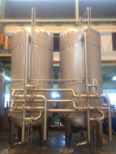 Carbon and Sand Filters