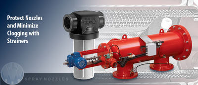 Strainers for Spray Systems