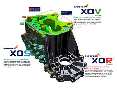 Rapidform 3D Software