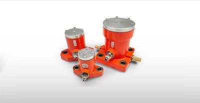 P – Linear Pneumatic Vibrators – Continuous impact