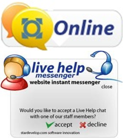 LiveChat at www.omnitrack.co.uk