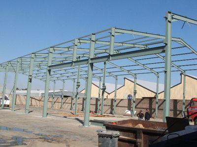Custom Made Steel Structures, Steel Structures, Steel Structure Manufacturers, Frame Structure