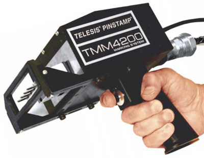 Hand Held Dot Peen Marking System Telesis Technologies